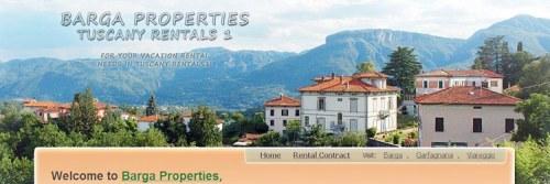 Розробка дизайну сайту Barga Properties