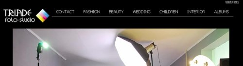 Запущено нову версію сайту Triade foto-studio